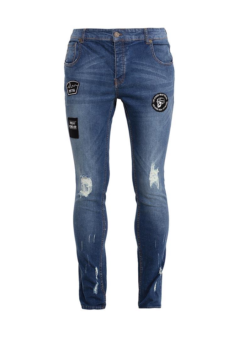 Зауженные джинсы Brave Soul MJN-STARK
