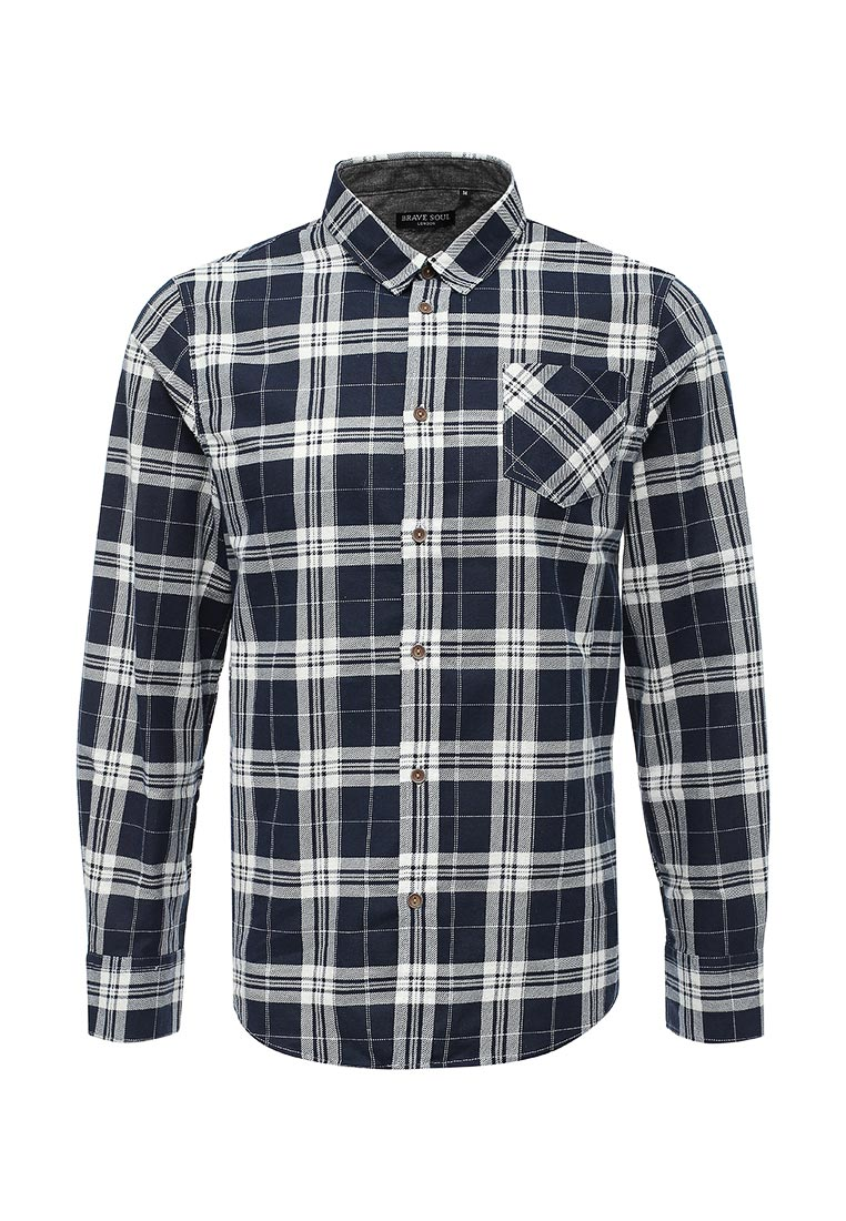 Рубашка с длинным рукавом Brave Soul MSH-69VIVARY