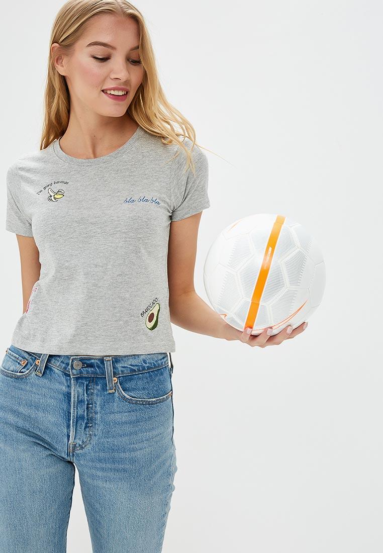 Футболка с коротким рукавом Brave Soul LTS-36GOLDIE