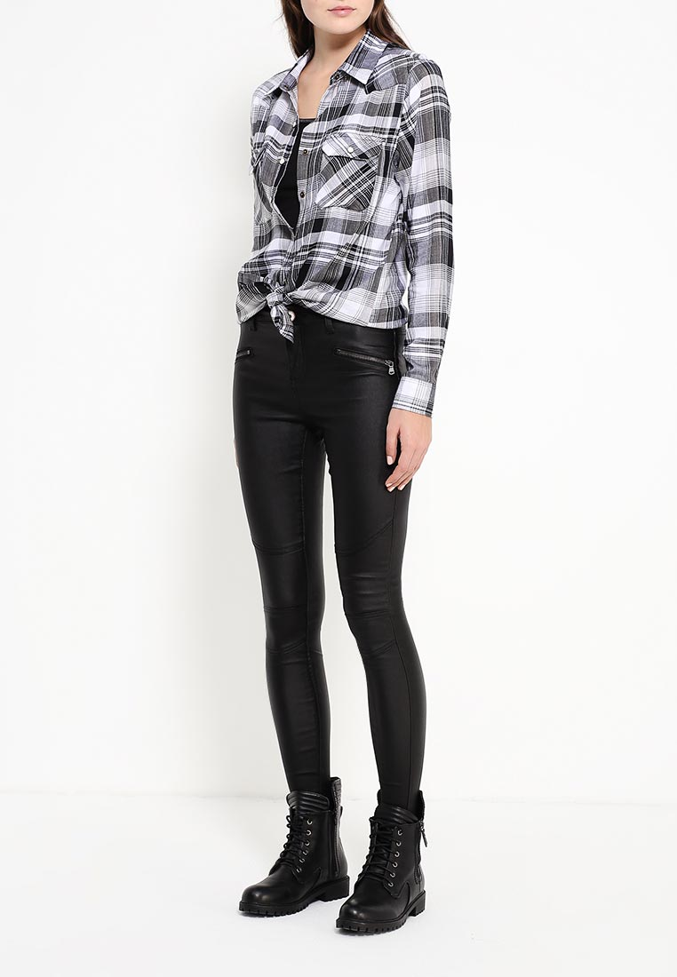 Женские зауженные брюки Brave Soul LJN-272BIKER: изображение 6