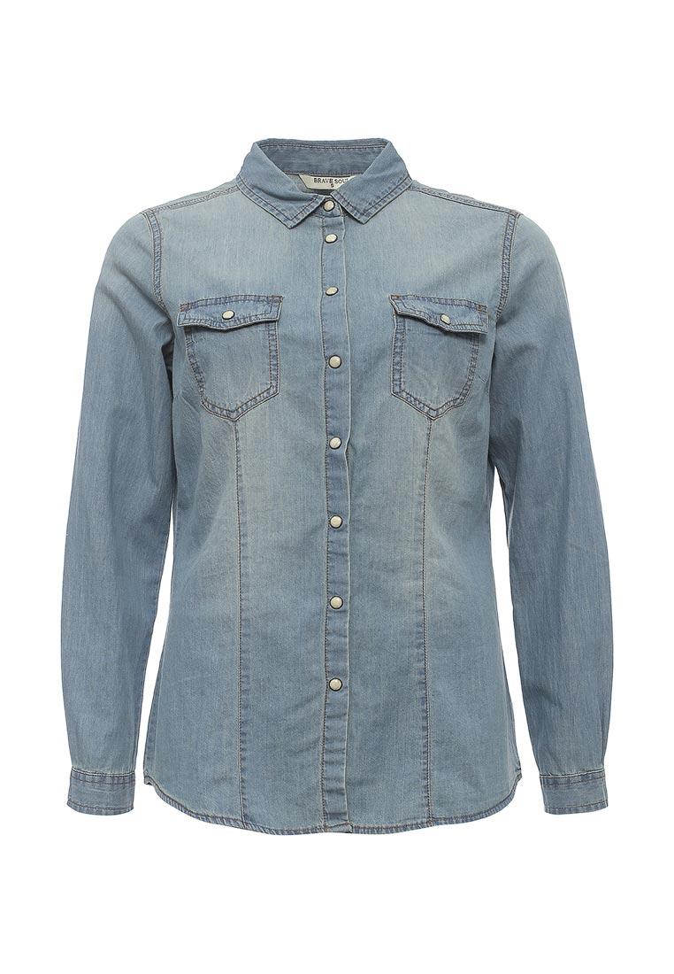 Женские джинсовые рубашки Brave Soul (Брейв Соул) LSH-364ROSE