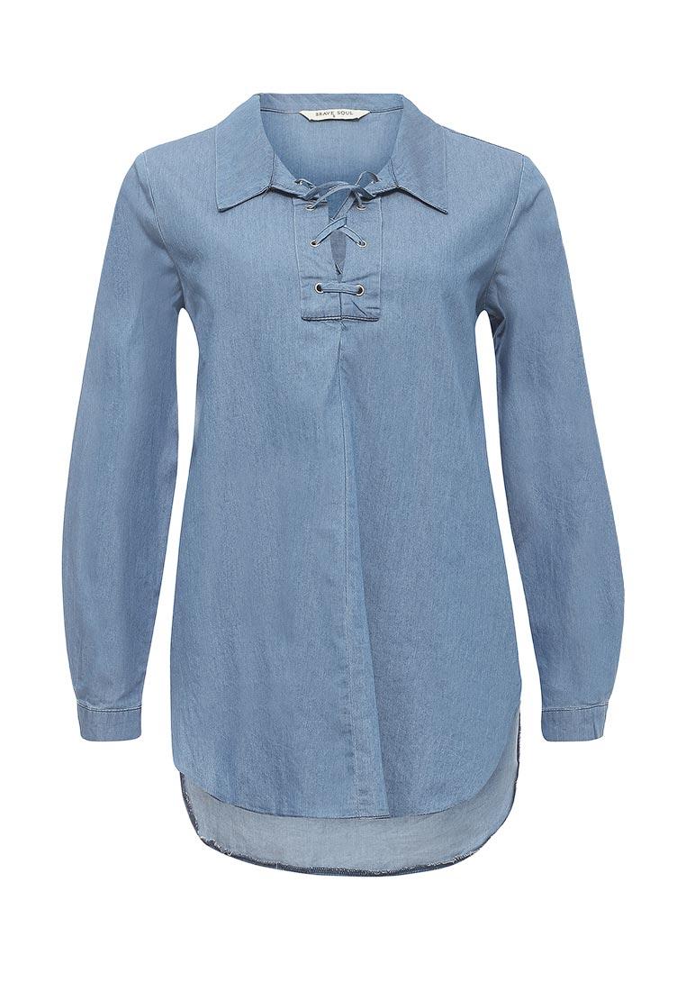 Женские джинсовые рубашки Brave Soul (Брейв Соул) LSH-340LINSEY