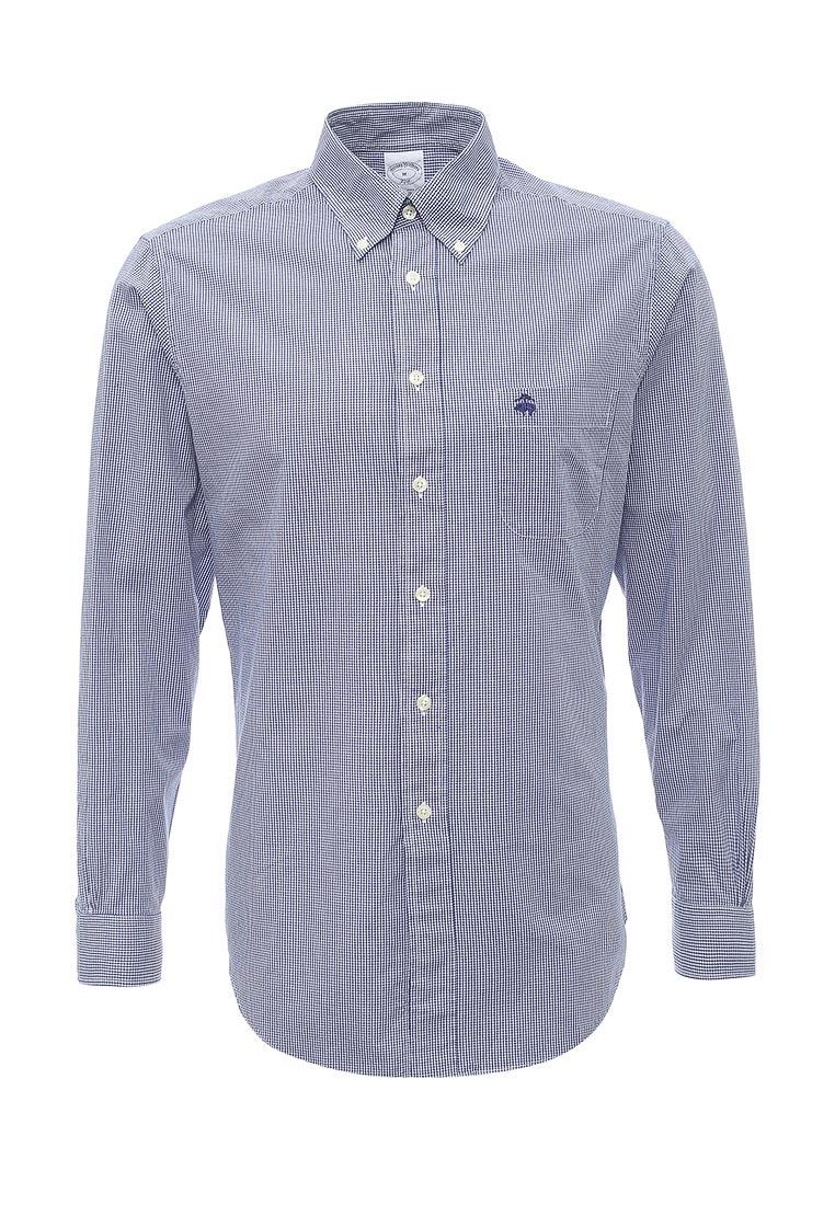 Рубашка с длинным рукавом Brooks Brothers 100038622_BLU