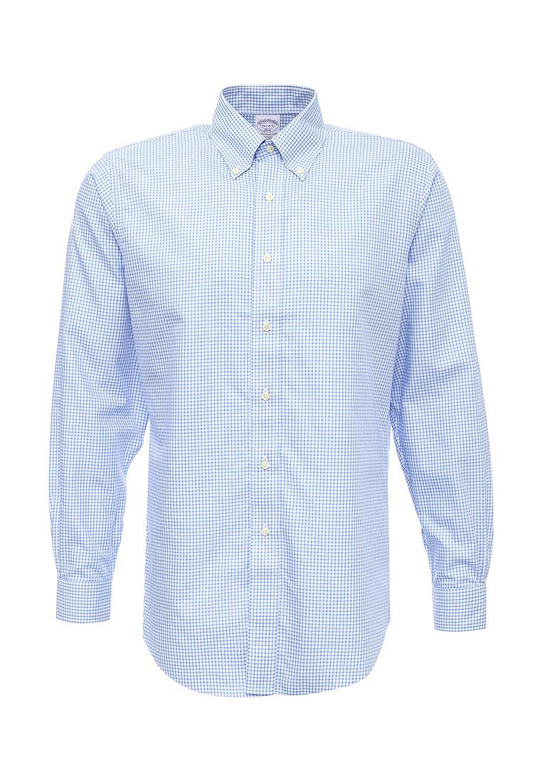 Рубашка с длинным рукавом Brooks Brothers 100044441_BLU