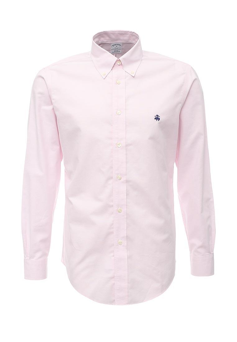 Рубашка с длинным рукавом Brooks Brothers 100047224_ROSA