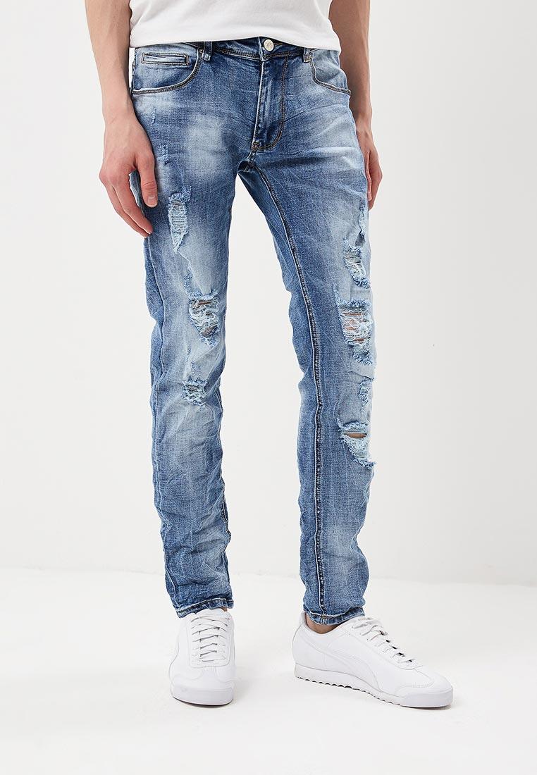 Зауженные джинсы Bruno Leoni JK045K