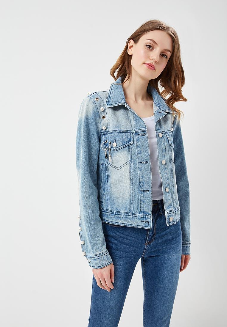 Джинсовая куртка B.Style F7-MDL83003