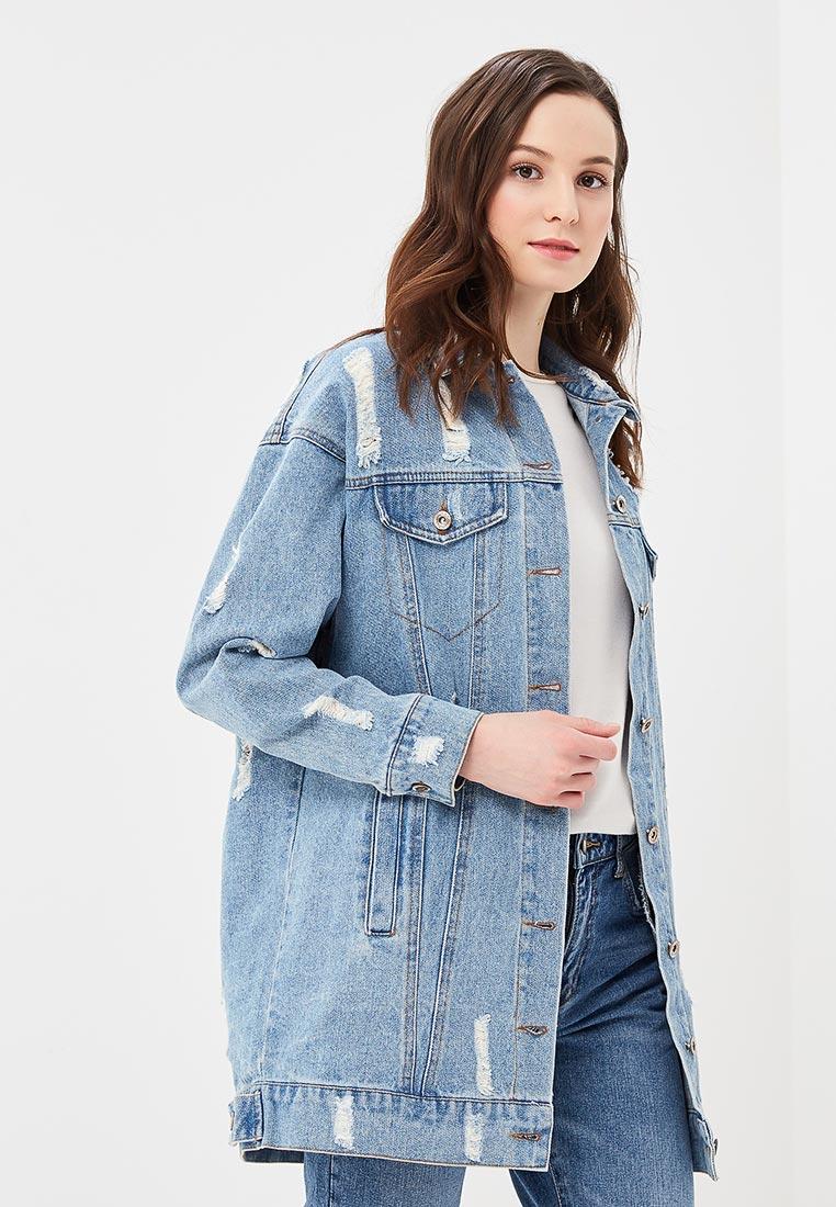 Джинсовая куртка B.Style F7-MDL83009