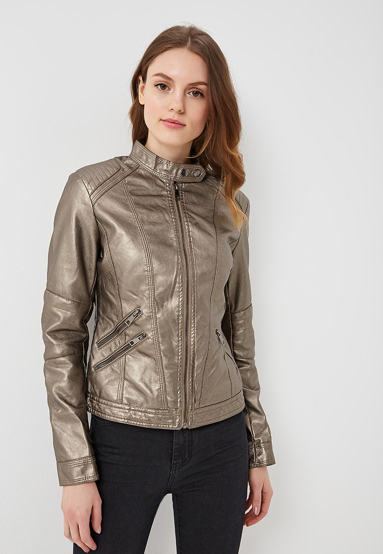 Кожаная куртка B.Style F7-P75066