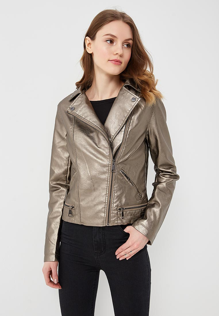 Кожаная куртка B.Style F7-P75068