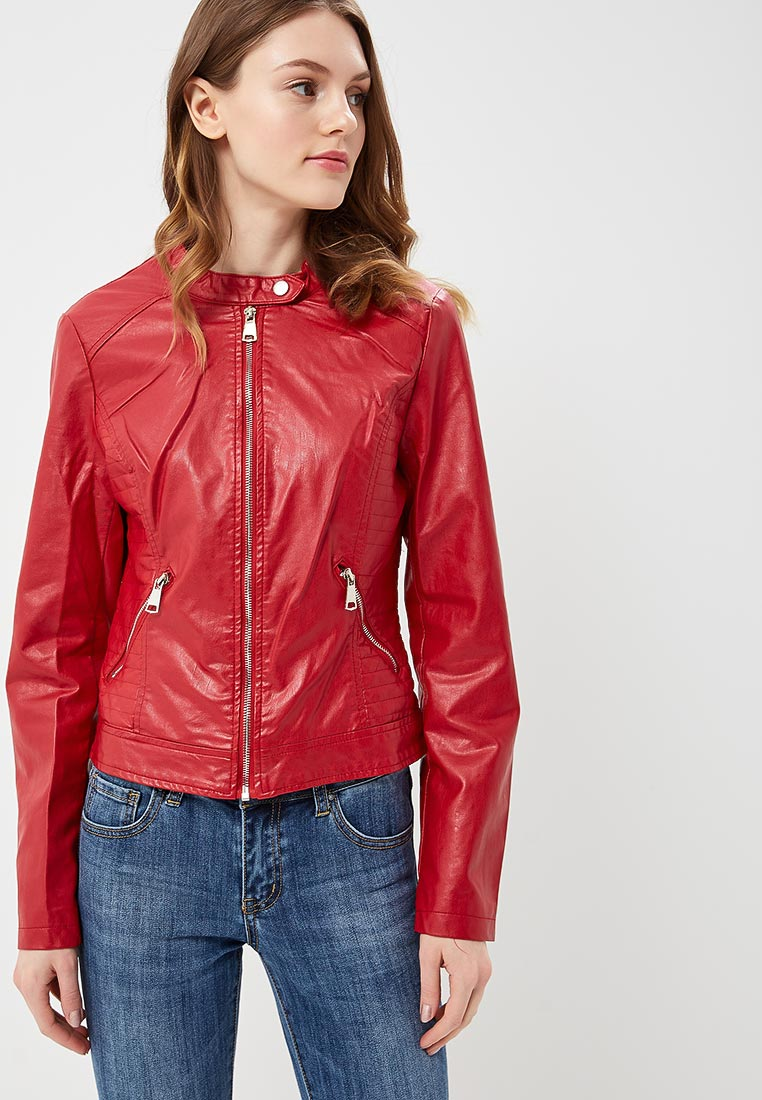Кожаная куртка B.Style F7-P75086