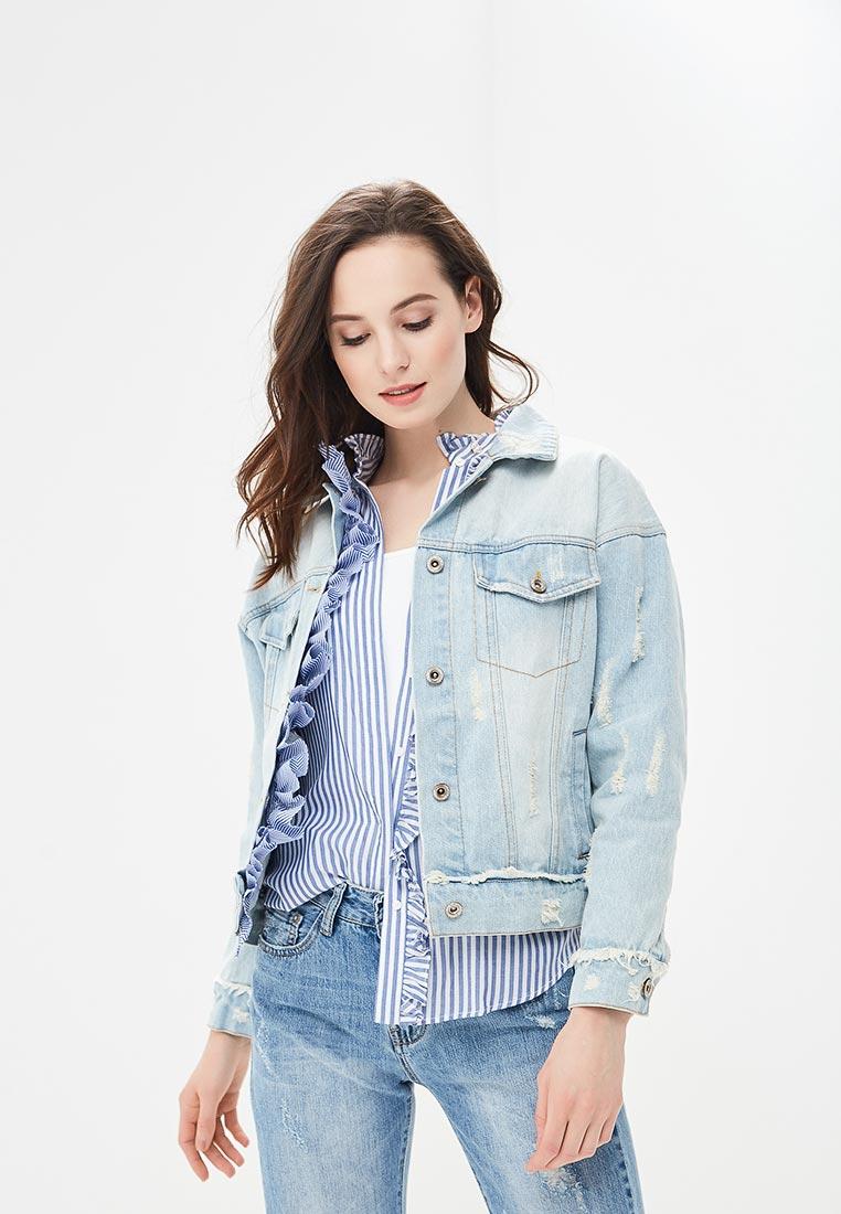 Джинсовая куртка B.Style F7-MDL83006