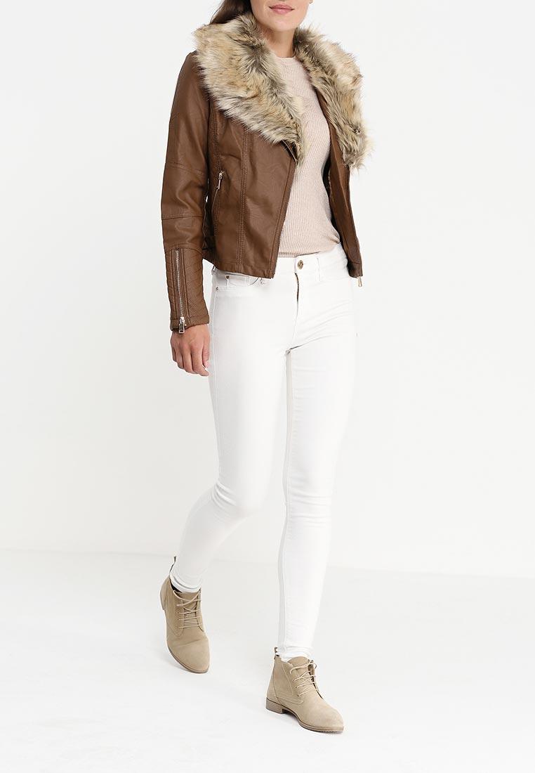 Кожаная куртка B.Style R10-P65019: изображение 6