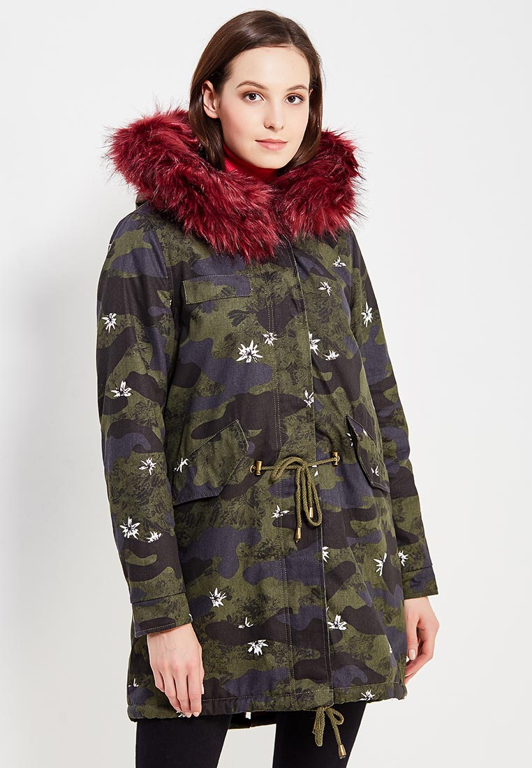 Утепленная куртка B.Style F7-MDL76033