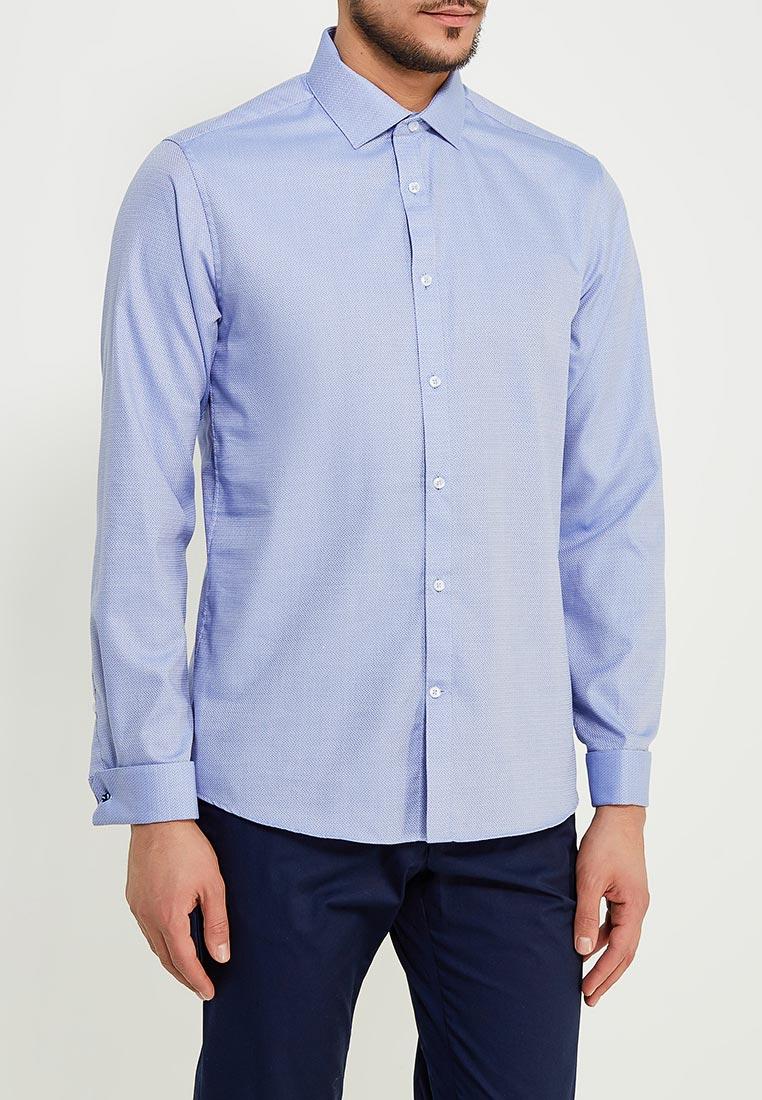 Рубашка с длинным рукавом Burton Menswear London 19F54LBLU