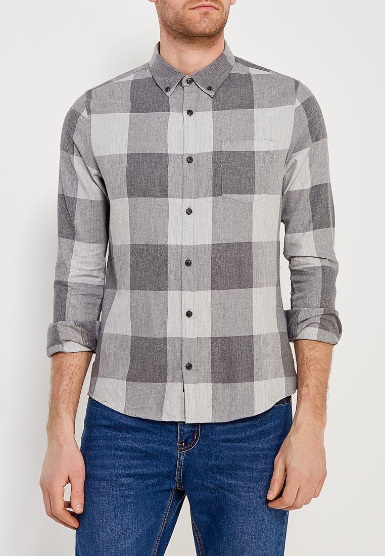 Рубашка с длинным рукавом Burton Menswear London 22C01MGRY