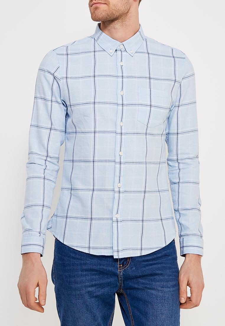 Рубашка с длинным рукавом Burton Menswear London 22C04MBLU
