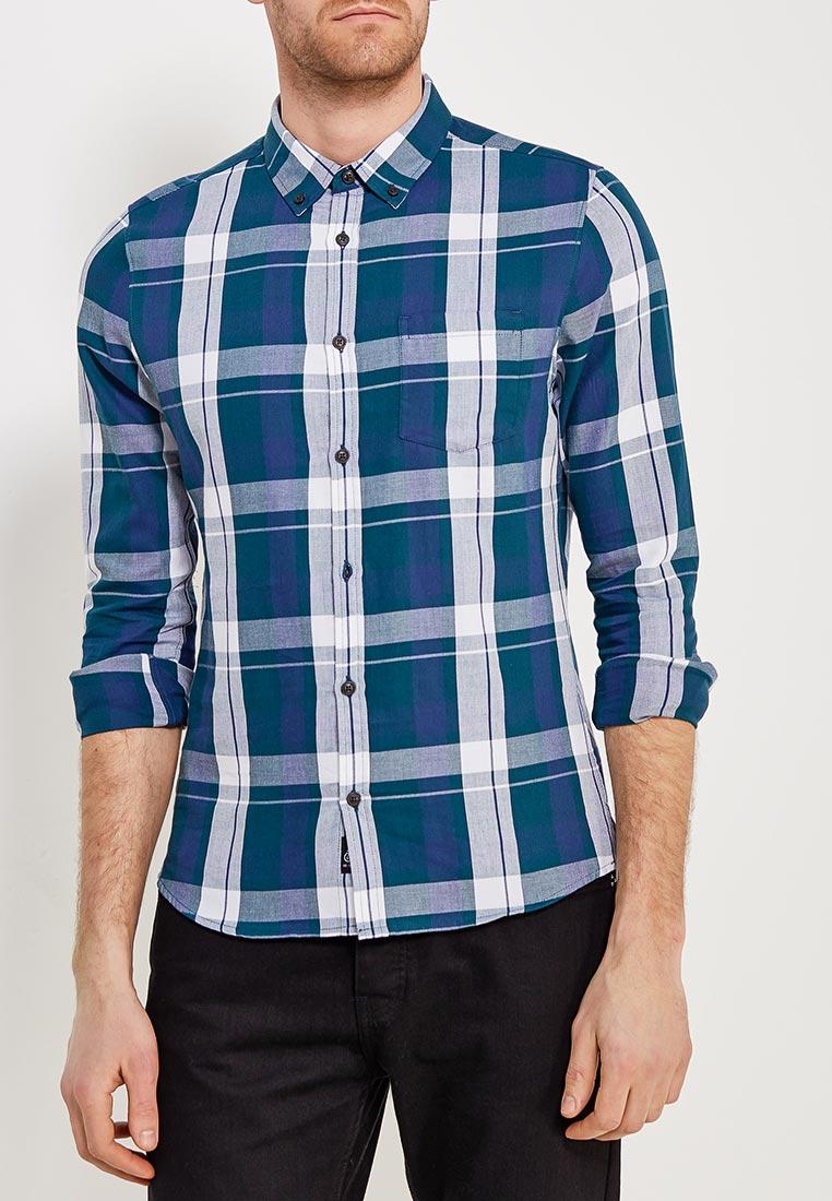 Рубашка с длинным рукавом Burton Menswear London 22C05MBLU