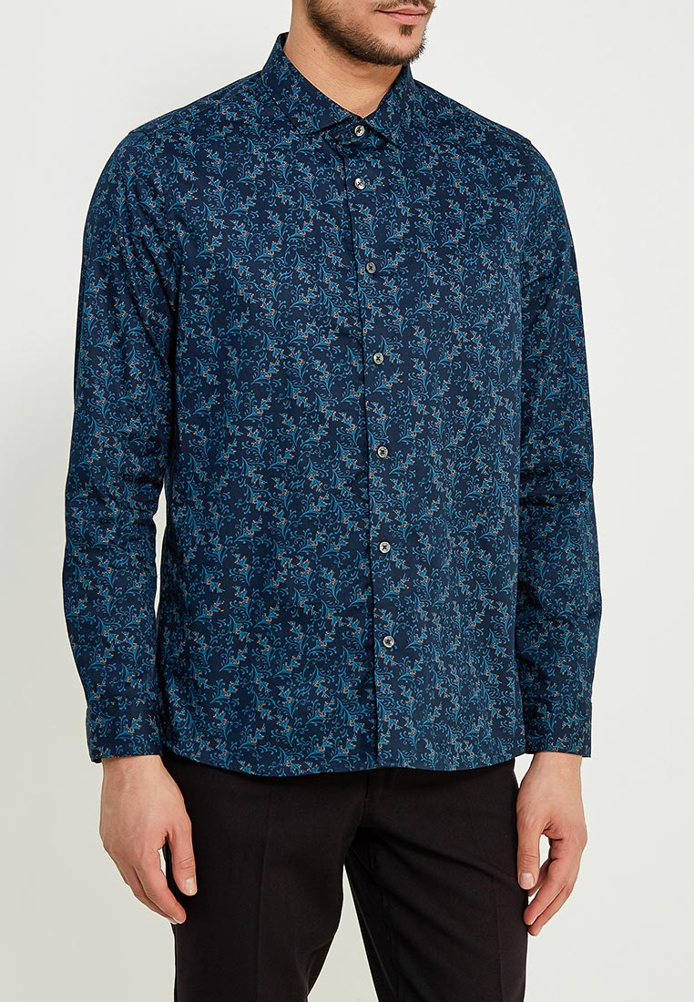 Рубашка с длинным рукавом Burton Menswear London 22D02LGRN