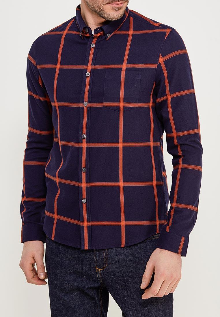 Рубашка с длинным рукавом Burton Menswear London 22C06MBLU