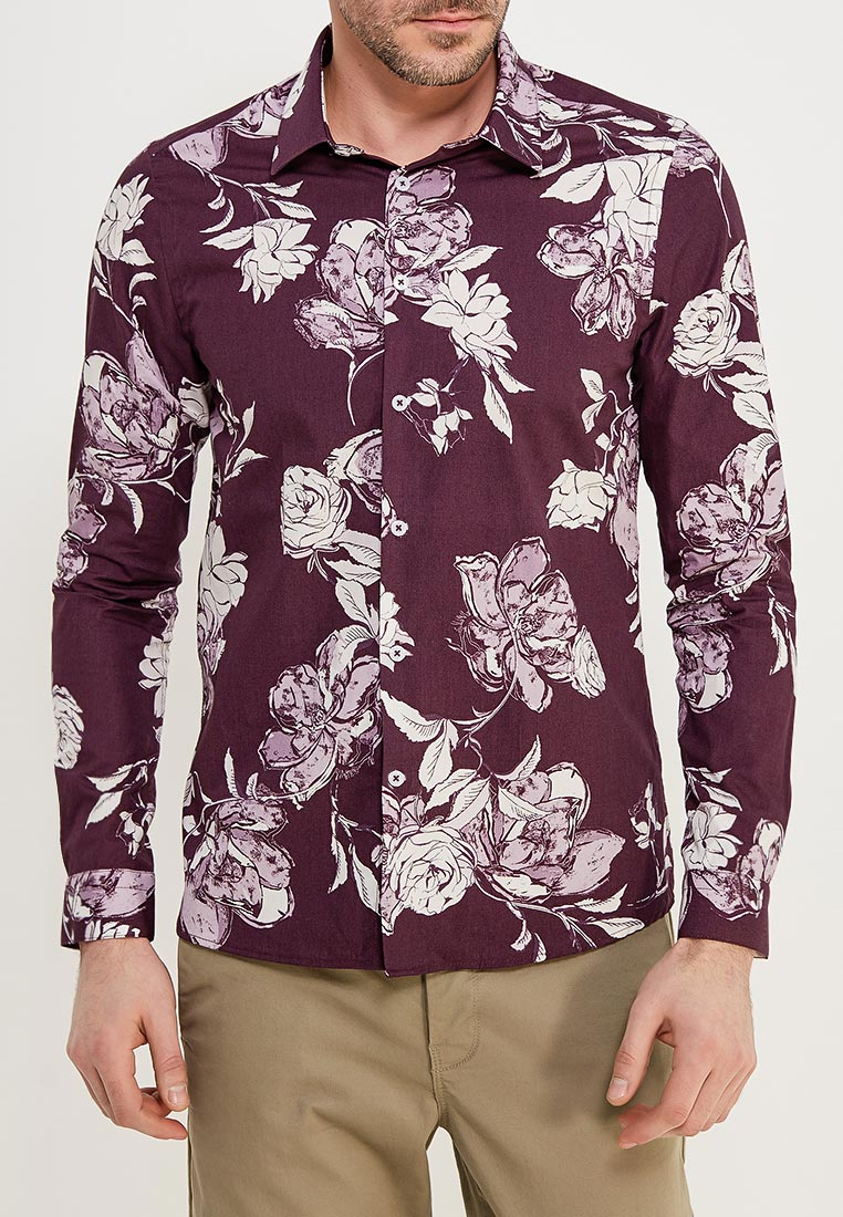 Рубашка с длинным рукавом Burton Menswear London 22D01MBUR