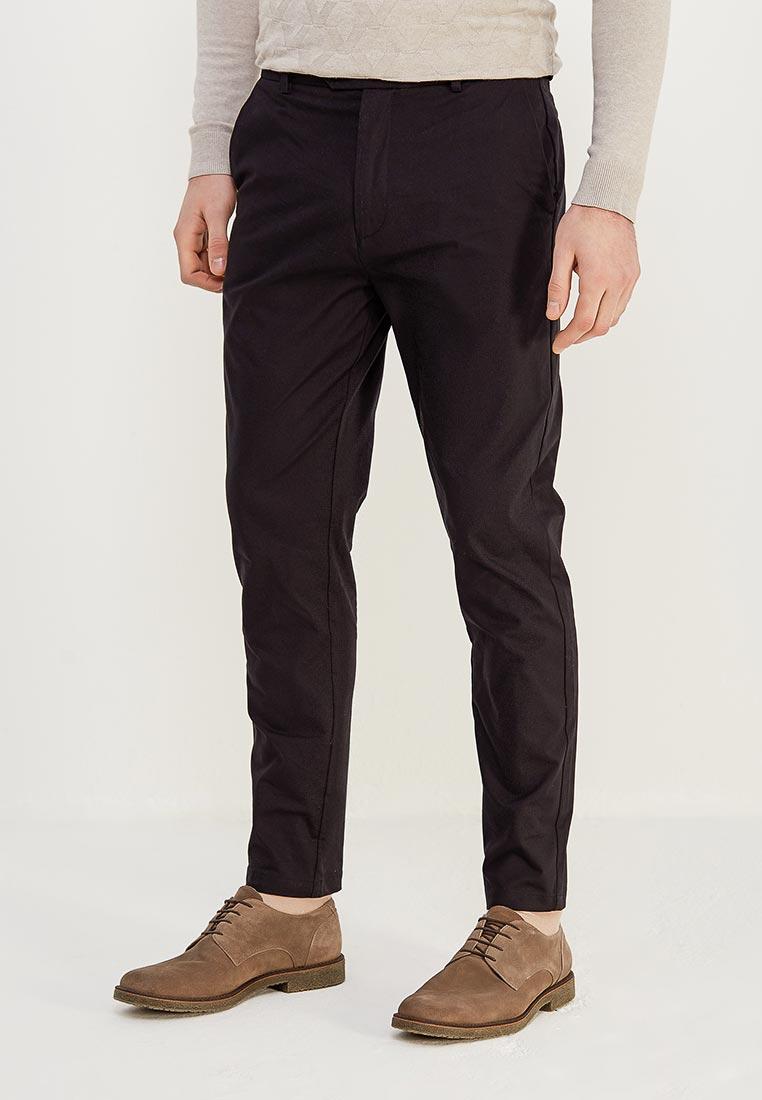 Мужские повседневные брюки Burton Menswear London 23C20LBLK
