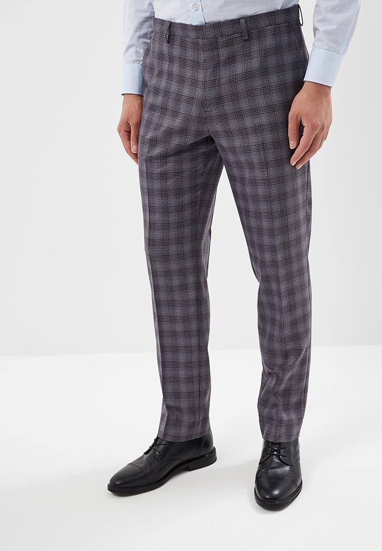 Мужские прямые брюки Burton Menswear London 02S05MGRY