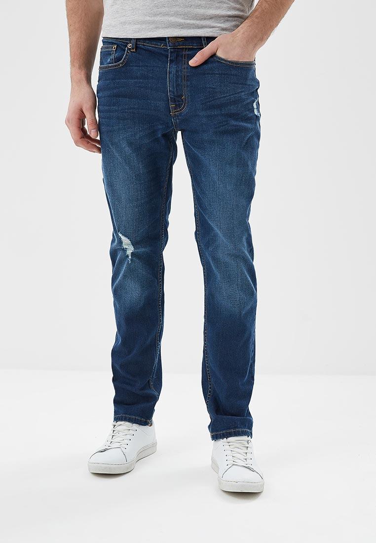 Зауженные джинсы Burton Menswear London 12L03MBLU