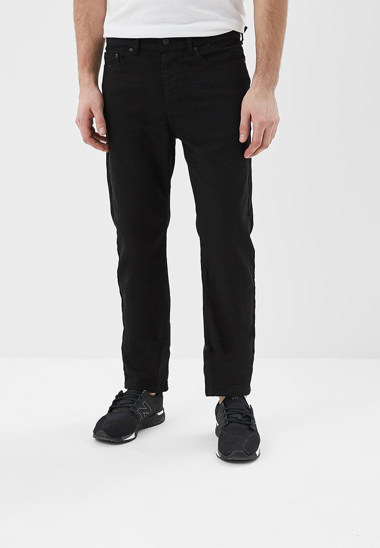 Мужские прямые джинсы Burton Menswear London 12T01MBLK