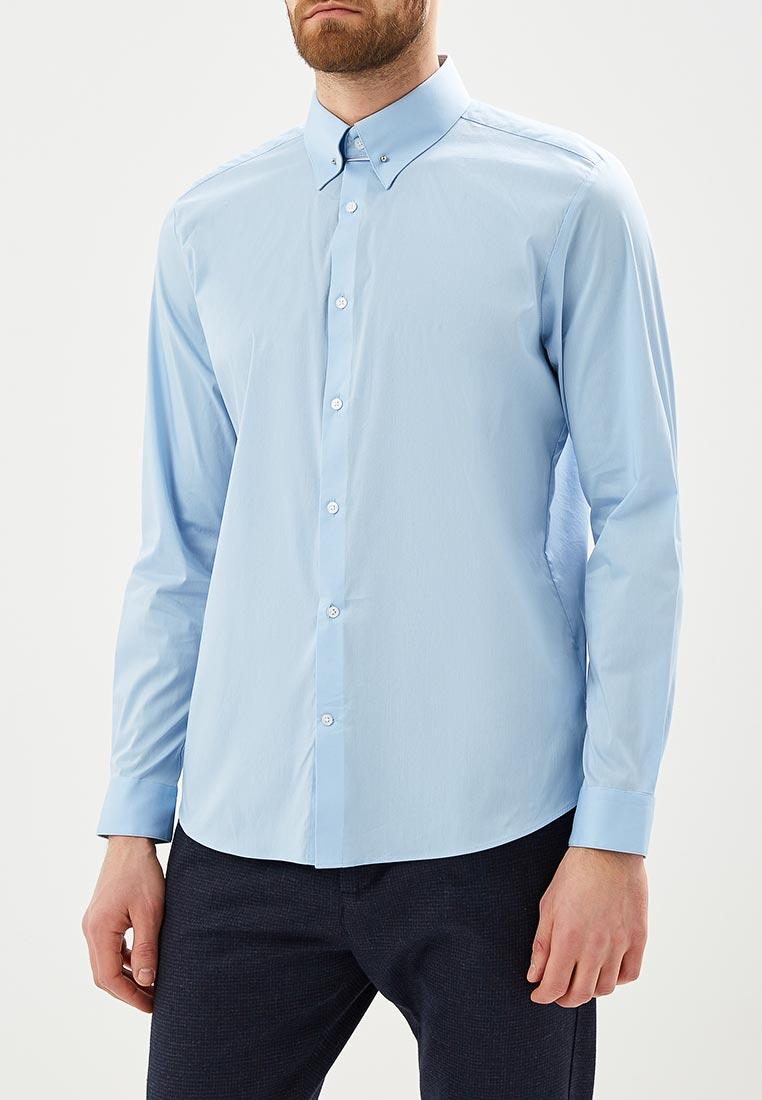 Рубашка с длинным рукавом Burton Menswear London 19F08MBLU
