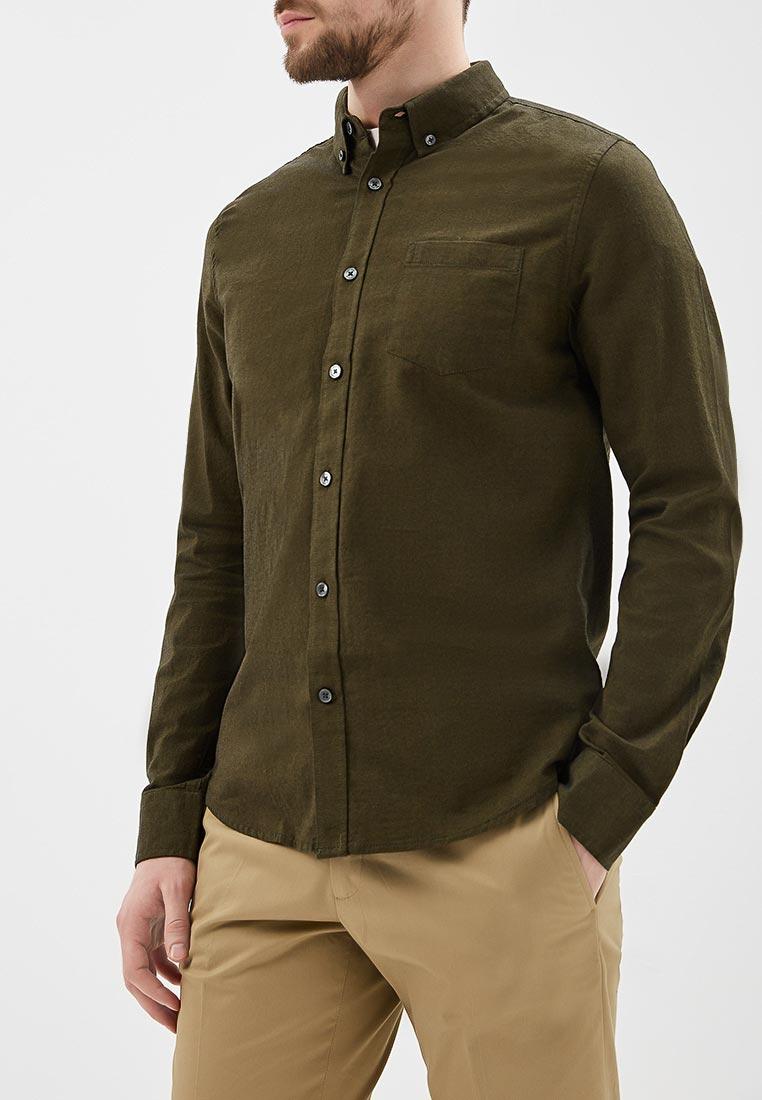 Рубашка с длинным рукавом Burton Menswear London 22O04LGRN