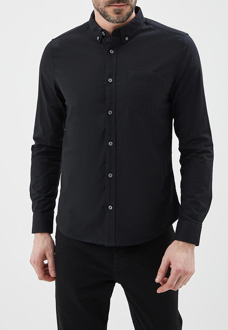 Рубашка с длинным рукавом Burton Menswear London 22O10LBLK