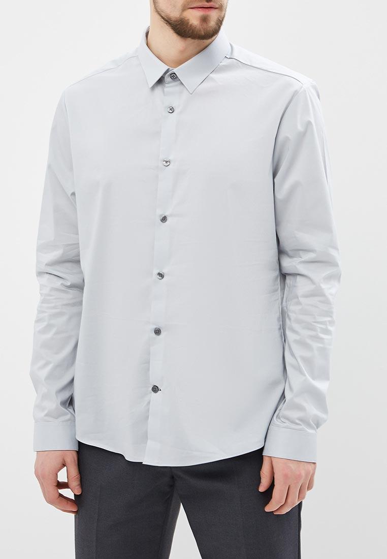 Рубашка с длинным рукавом Burton Menswear London 22S01MGRY