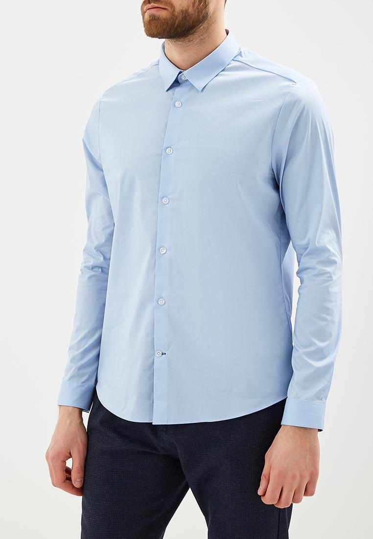 Рубашка с длинным рукавом Burton Menswear London 22S04LBLU