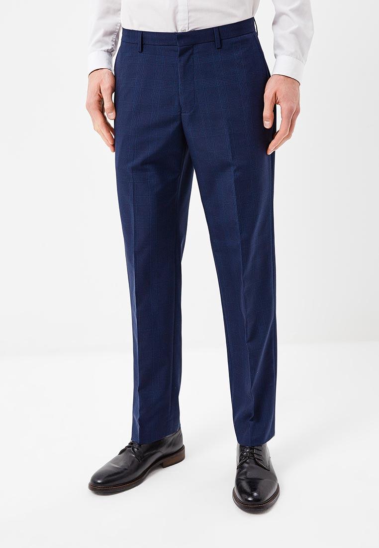 Мужские прямые брюки Burton Menswear London 02T05MBLU