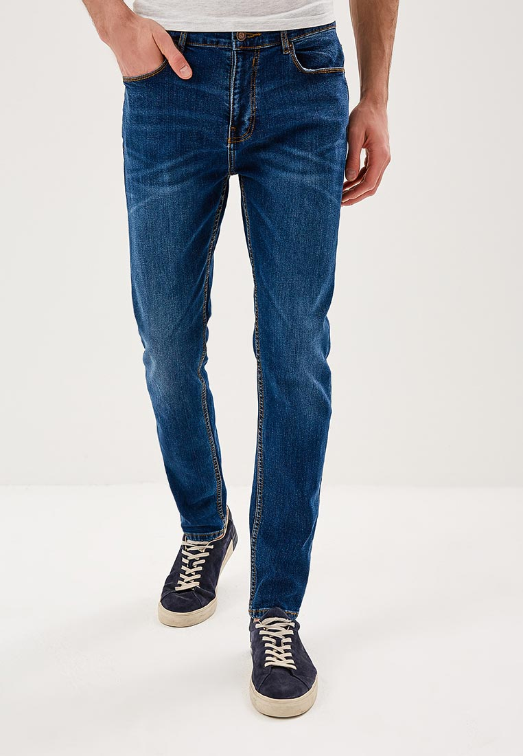 Зауженные джинсы Burton Menswear London 12A55KBLU