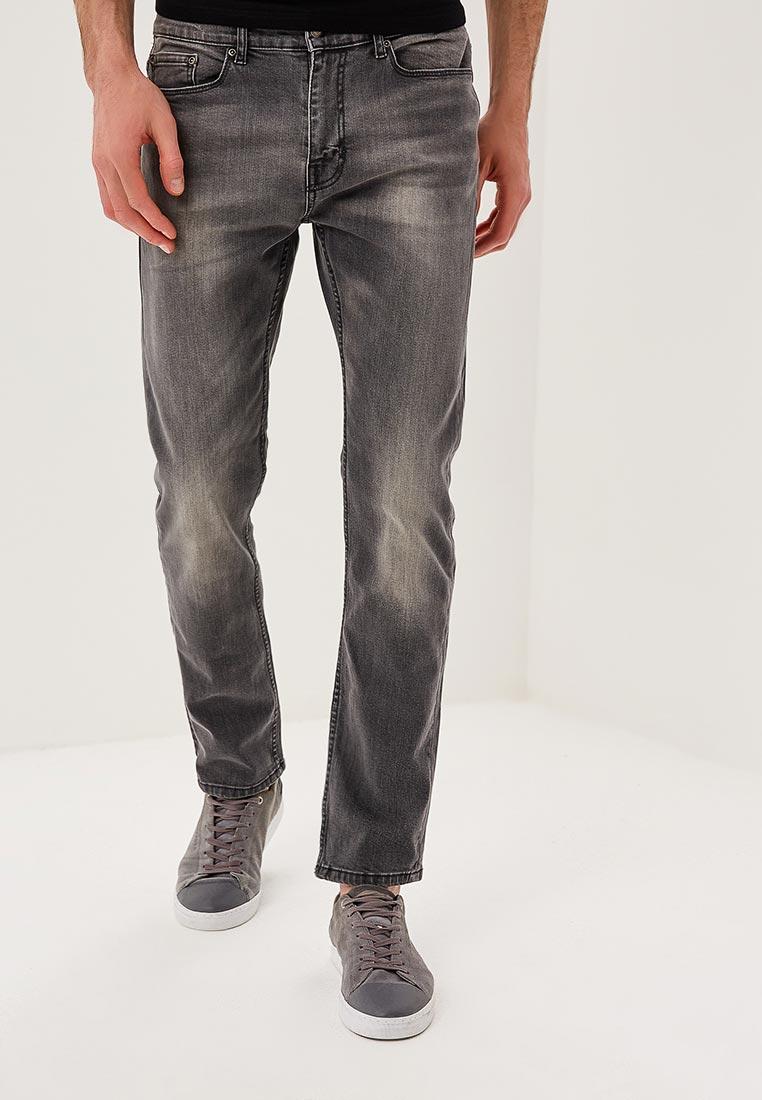Зауженные джинсы Burton Menswear London 12L01MGRY