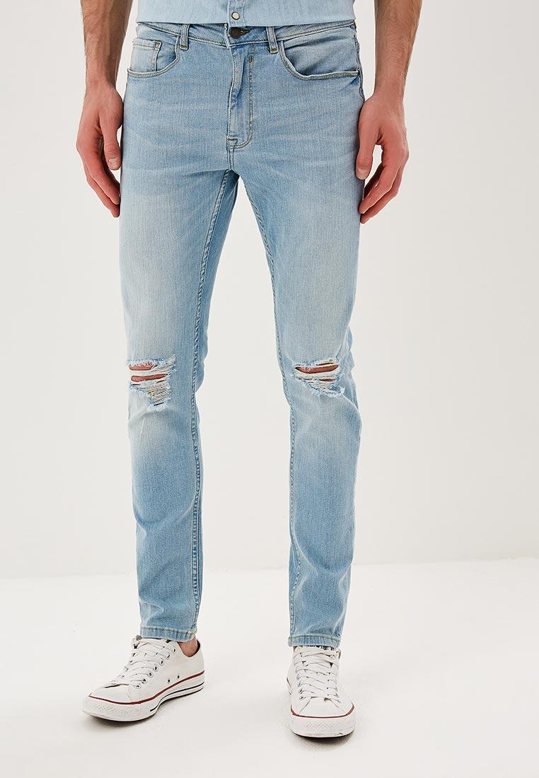 Зауженные джинсы Burton Menswear London 12S02MBLU