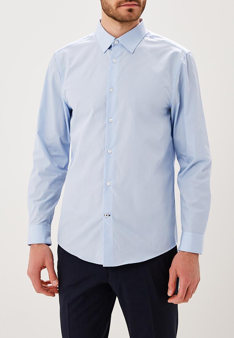Рубашка с длинным рукавом Burton Menswear London 19E14LBLU