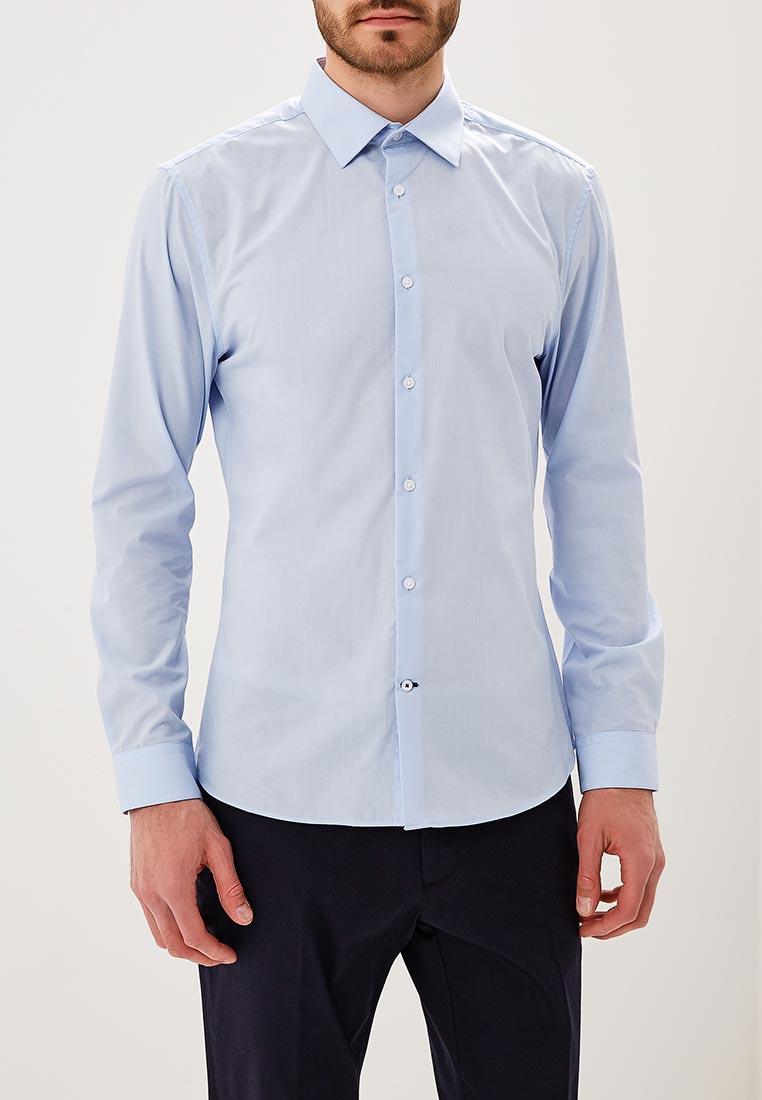 Рубашка с длинным рукавом Burton Menswear London 19E25MBLU