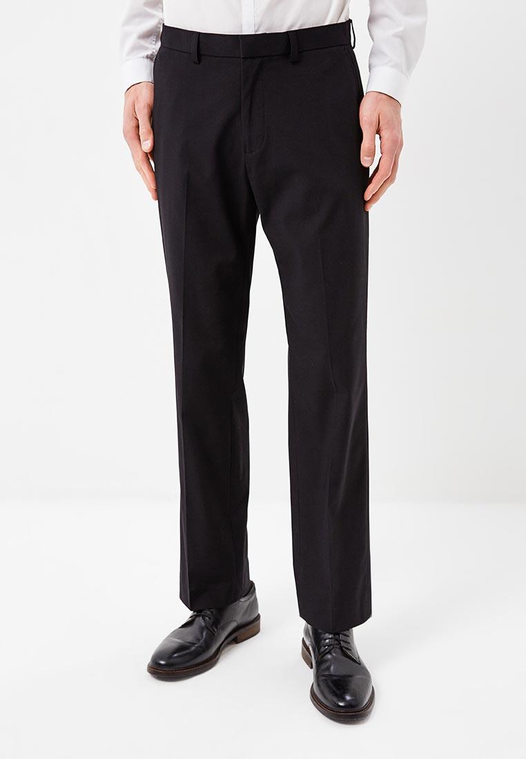 Мужские прямые брюки Burton Menswear London 23R03MBLK