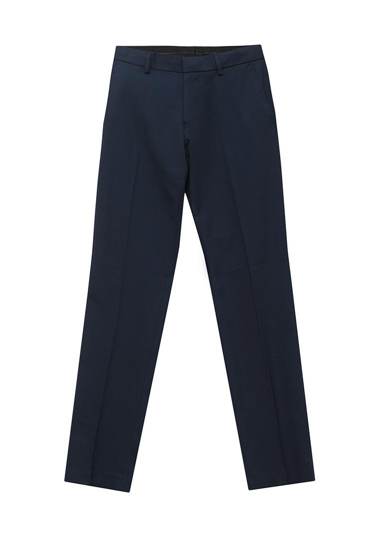 Мужские зауженные брюки Burton Menswear London 23S01LBLU