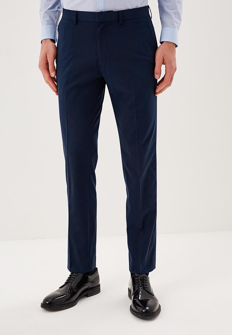 Мужские зауженные брюки Burton Menswear London 23S01MBLU
