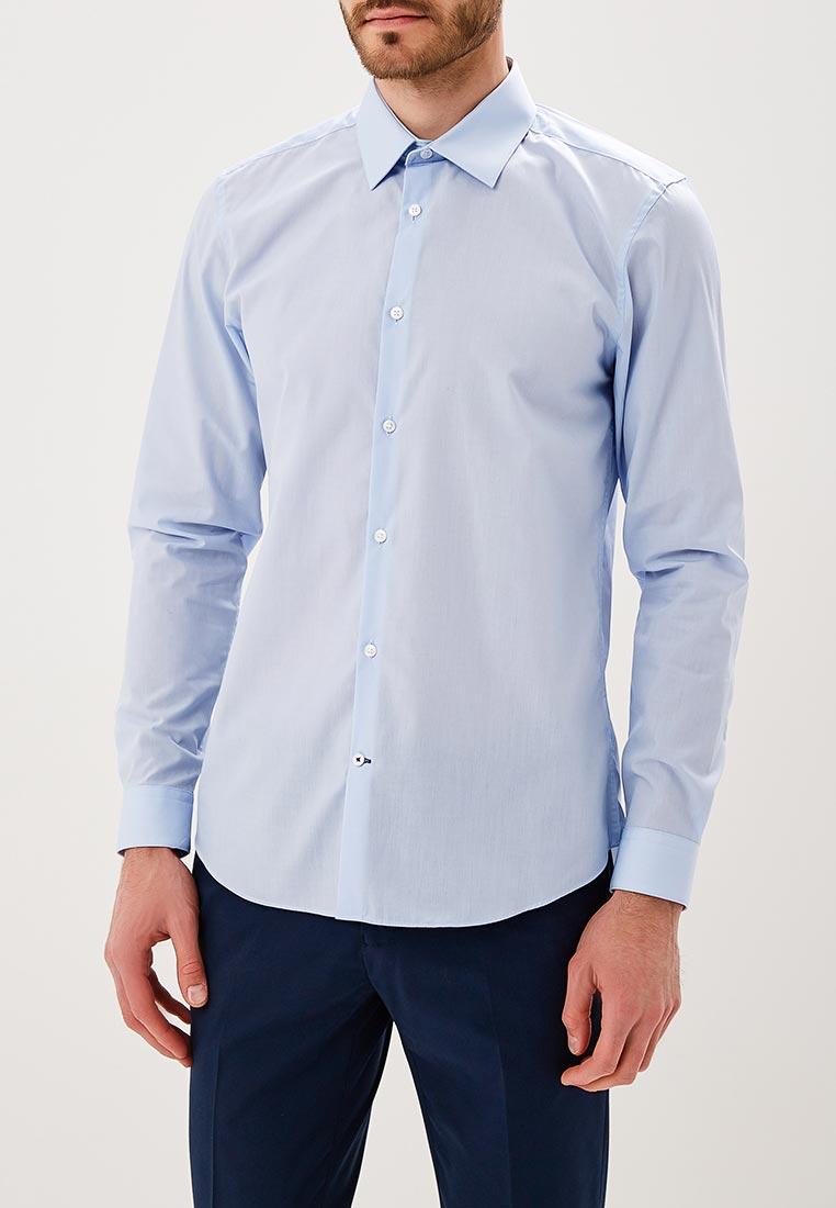 Рубашка с длинным рукавом Burton Menswear London 25E08LBLU