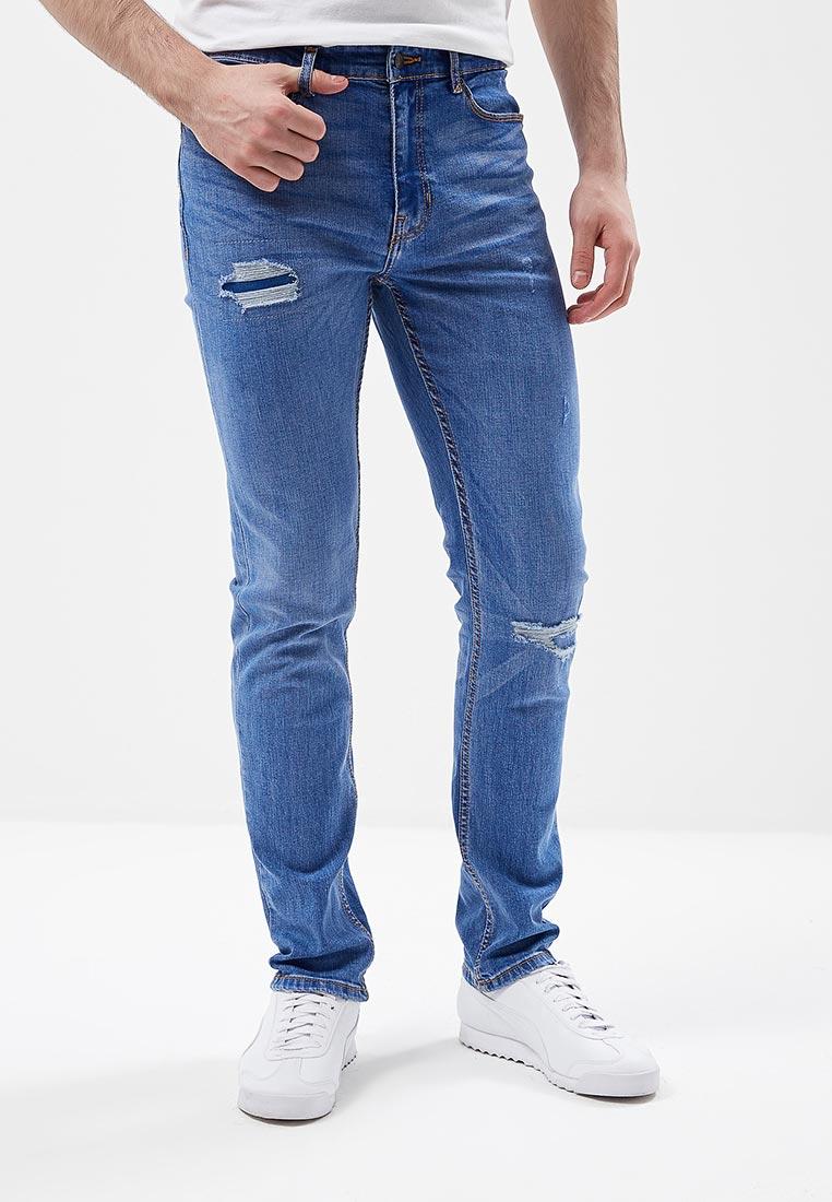 Зауженные джинсы Burton Menswear London 12L04MBLU