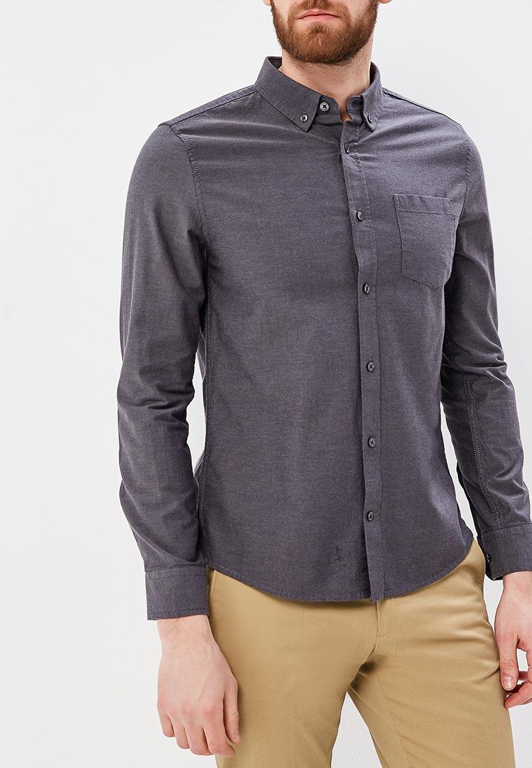 Рубашка с длинным рукавом Burton Menswear London 22O06LGRY