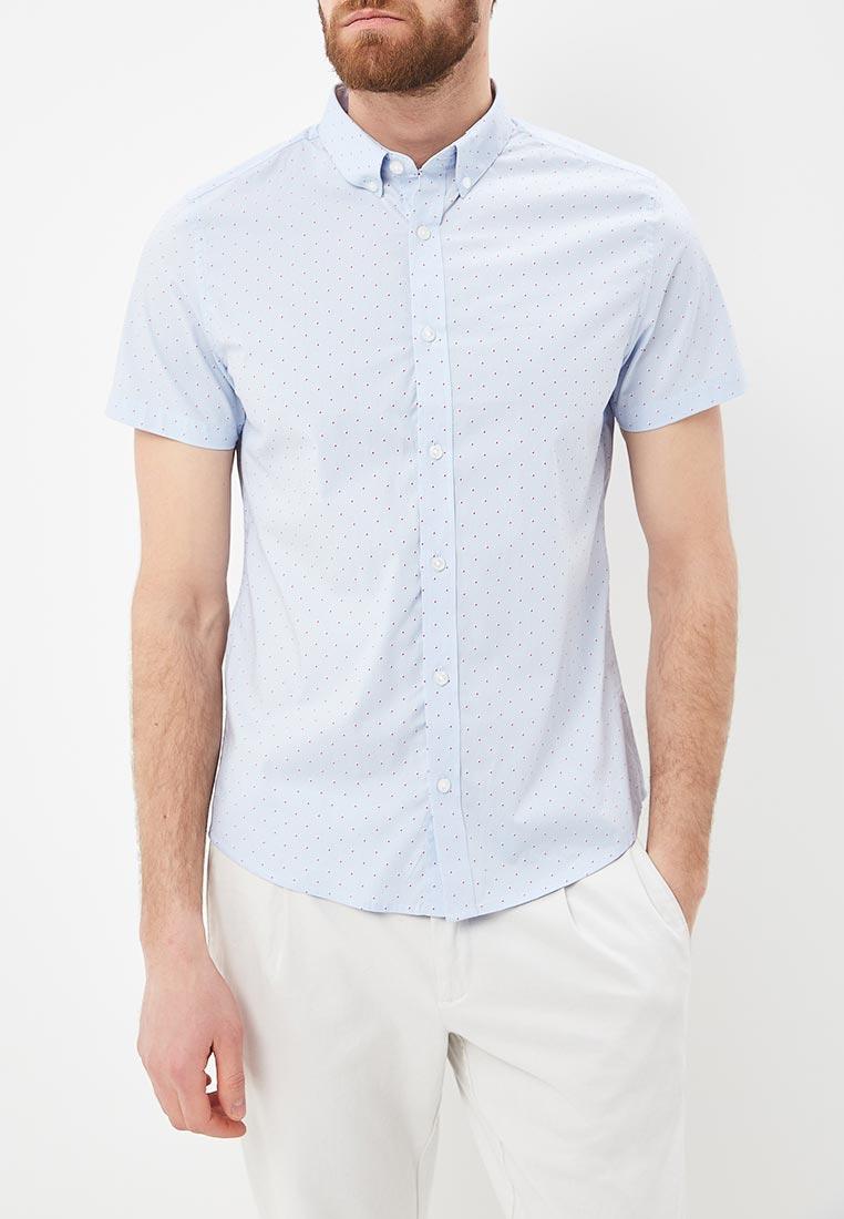Рубашка с коротким рукавом Burton Menswear London 22P02MBLU