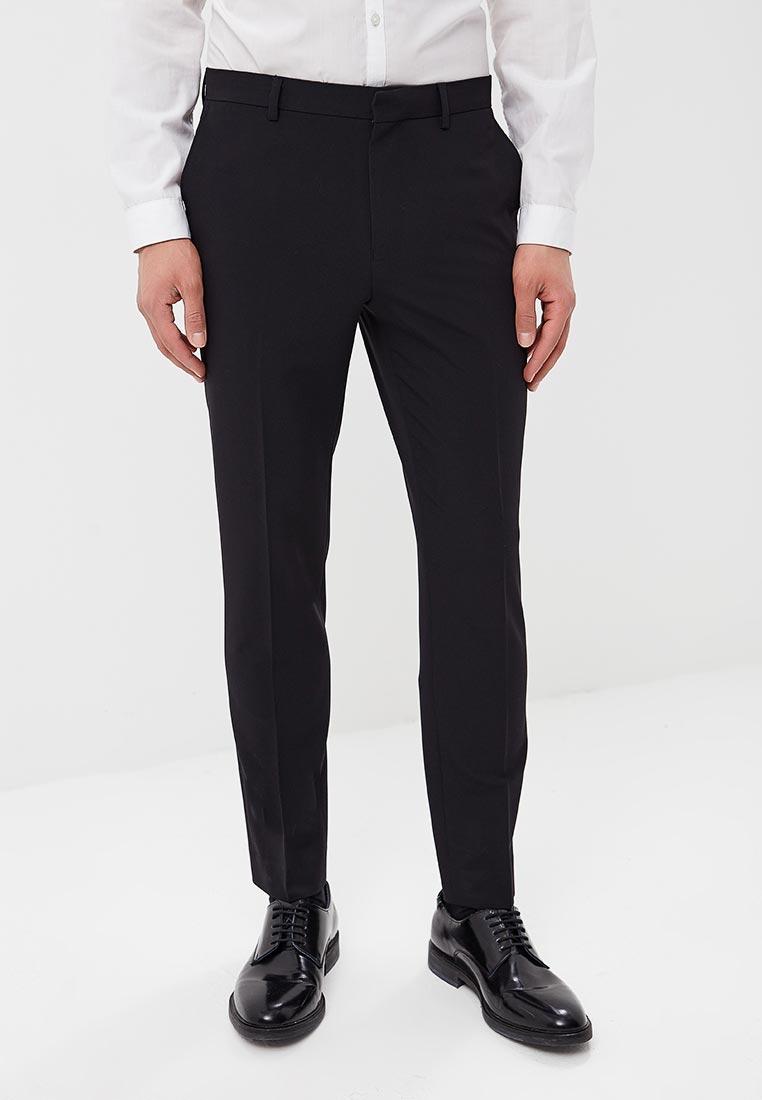 Мужские классические брюки Burton Menswear London 02M14MBLK