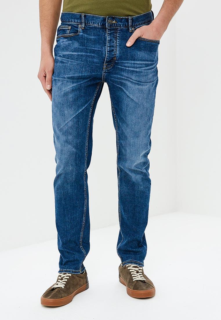 Зауженные джинсы Burton Menswear London 12A04LBLU