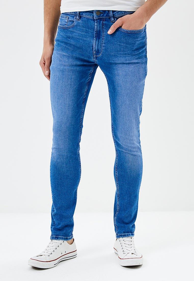 Зауженные джинсы Burton Menswear London 12S03MBLU